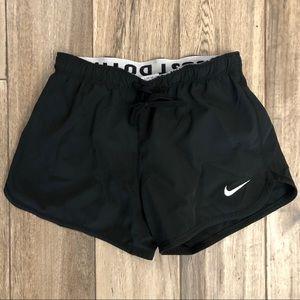 Nike dri fit black shorts